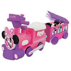 Trenulet Electric Minnie Choo Choo cu Sine