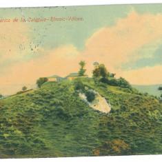4190 - Rm. VALCEA, Church CETATUIA - old postcard - used - 1917 - Carte Postala Oltenia 1904-1918, Circulata, Printata