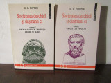 SOCIETATEA DESCHISA SI DUSMANII EI-K. R. Popper( 2 VOL )