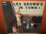 -Y- LES BROWN'S IN TOWN   DISC VINIL