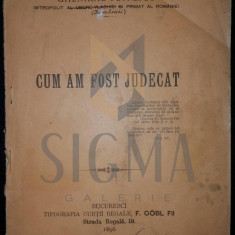MITROPOLIT GHENADIE PETRESCU - CUM AM FOST JUDECAT, 1896 - Carti Istoria bisericii