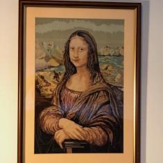 Goblen inramat MONA LISA 29x42 cm