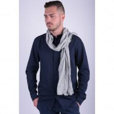 Esarfa Jack&Jones Orlando Woven White Blue Stripe - Papion Barbati