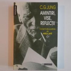AMINTIRI, VISE, REFLECTII-C.G. JUNG - Carte Psihologie