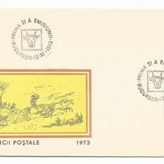 (No4) FDC ROMANIA - 1973 Lp 834 Ziua Marcii Postale Romanesti - Surugiu