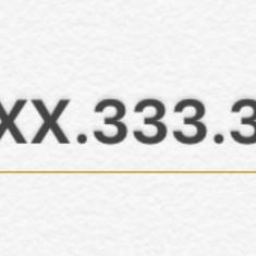 07XX.333.333 . XX=2 cifre identice: numar aur, preferential, platina, vip, fite