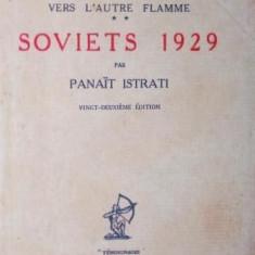 SOVIETS 1929 - PANAIT ISTRATI - Carte de aventura