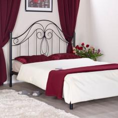 Pat fier forjat Felicia (cu tablie mica) 1800x2000 - Pat dormitor