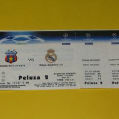 Bilet meci fotbal STEAUA BUCURESTI - REAL MADRID (17.10.2006)