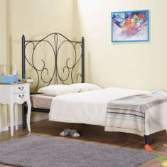 Pat fier forjat Laura (cu tablie mica) 1400x2000 - Pat dormitor