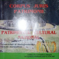 CORPUS JURIS PATRIMONII - DR . AUGUSTIN LAZAR, AUREL CONDRUZ - Istorie