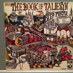 DEEP PURPLE - THE BOOK OF TALIESYN (1968/EMI Rec/RFG) - Vinil/Impecabil (NM-) - Muzica Rock emi records