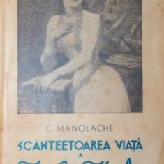 SCANTAIETOAREA VIATA A IULIEI HASDEU - C . MANOLACHE - Studiu literar