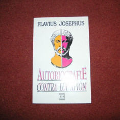 Flavius Josephus - Autobiografie Contra Lui Apion
