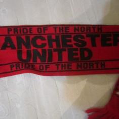 Fular manchester unted cu doua fete - Fular fotbal, De club, Manchester United