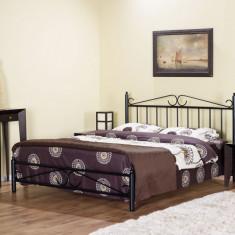 Pat fier forjat Diana 1400x2000 - Pat dormitor
