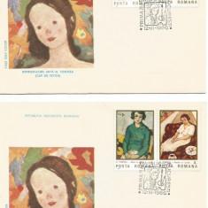 (No4) FDC ROMANIA -1986- LP 1151- Reproduceri de arta N Tonitza