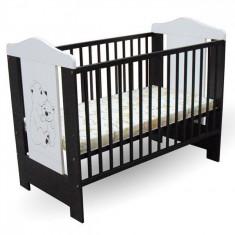 Patut din lemn Bruni 120 x 60 cm First Smile - Patut lemn pentru bebelusi