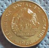 Moneda 15 Bani - ROMANIA, anul 1966 *cod 5063  a.UNC