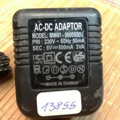 Alimentator MW41-0600500U 6V 500mA (13855)