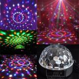 Glob Disco Usb Jocuri Lumini Difuzoare Audio Lumini 6 Culori Telecomanda Stick - Laser lumini club