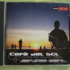 CAFE DEL SOL - The Best Ibiza Chill-Out Themes 2002 - C D Original ca NOU - Muzica Chillout