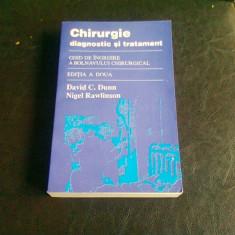 CHIRURGIE DIAGNOSTIC SI TRATAMENT - DAVID C. DUNN - Carte Chirurgie