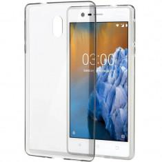 Husa Protectie Spate Nokia Slim Crystal Transparent pentru Nokia 3