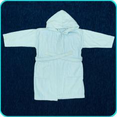 Halat de baie, bumbac plușat gros, de calitate → baieti | 3—4 ani | 98—104 cm - Prosop baie copii, Albastru, Baiat