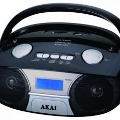 Radio portabil AKAI APRC-106, 3W, negru - Aparat radio Akai, Digital, 0-40 W
