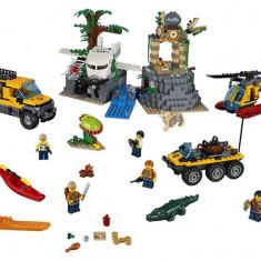 60161 Lego City Amplasamentul De Explorare Din Jungla