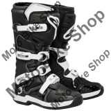 MBS Cizme motocross Alpinestars Tech3 Special Edition, negru-alb, 44.5, Cod Produs: 2013071210