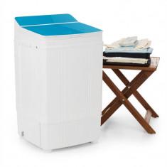 OneConcept Ecowash Deluxe mașină de spălat, 290W, 4 kg, timer, funcție de centrifugare, culoare albastru - Masina de spalat rufe