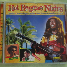 HOT REGGAE NIGHTS  Vol. 1 - C D Original ca NOU, CD
