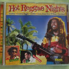 HOT REGGAE NIGHTS Vol. 1 - C D Original ca NOU - Muzica Reggae