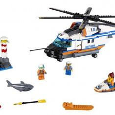 60166 Lego City Elicopter De Salvare Pentru Conditii Grele
