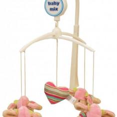 Carusel muzical Pink Hats - Carusel patut Baby Mix, Multicolor