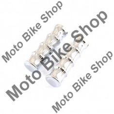 MBS Set mansoane ghidon moto-plastic,cromate, Cod Produs: MBS170117