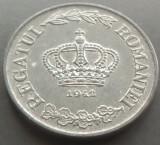 Moneda 5 Lei - ROMANIA, anul 1942 *cod 5060  Zinc ---  A.UNC+