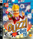 Buzz Quiz TV - PS3 [Second hand] fm, Board games, 18+, Multiplayer