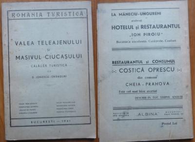Ionescu Cranguri , Valea Teleajenului si Masivul Ciucasului , 1941 foto