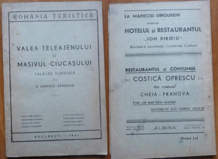 Ionescu Cranguri , Valea Teleajenului si Masivul Ciucasului , 1941