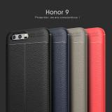 Husa / Bumper Antisoc model PIELE pentru Huawei Honor 9, Alt model telefon Huawei, Negru
