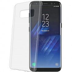 Husa Protectie Spate Celly GELSKIN691 Transparent pentru SAMSUNG Galaxy S8 Plus - Husa Telefon