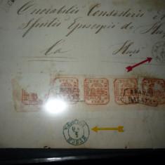 timbre filatelice/ Romania - 1858 - 1862