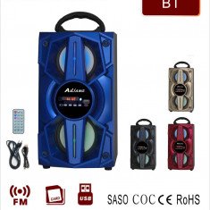 NOU! BOXA ACTIVA CU 2 DIFUZOARE, MP3 PLAYER USB, BLUETOOH, TELECOMANDA, SUNET HI FI., Boxe compacte, 0-40W
