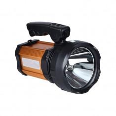 Lanterna de mana, 5 W, 1 x LED, USB