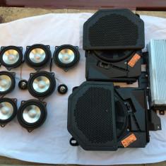 Sistem audio HI-FI Harman Kardon Logic 7 BMW E90, E91, E92, E60 - Amplificator auto, peste 200W