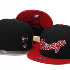 Sapca 47 Brand - Chicago Bulls - snapback - marime reglabila rap hip hop - Sapca Barbati, Marime: Alta, Culoare: Negru