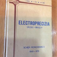 ELECTROPRECIZIA SACELE BRASOV : SCHITA MONOGRAFICA : 1949 - 1979- I.HENTIU - Carte Monografie